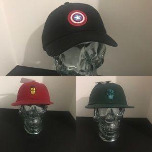 Marvel x vans caps